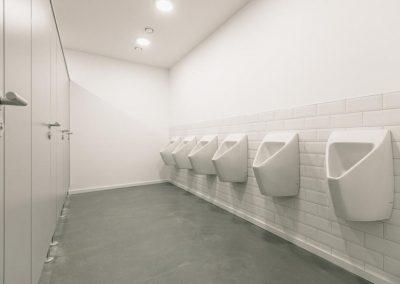 Kabinen + Urinale | Herren WC